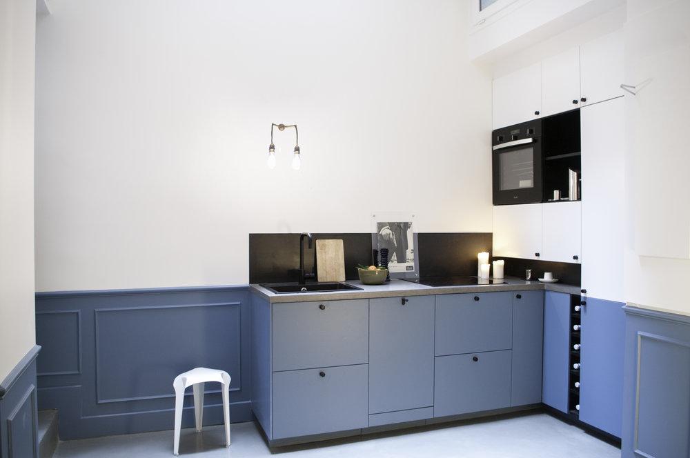RÉAUMUR - Rénovation complète et agrandissement d'un loft38m2 |75002 |Livré en novembre 2014