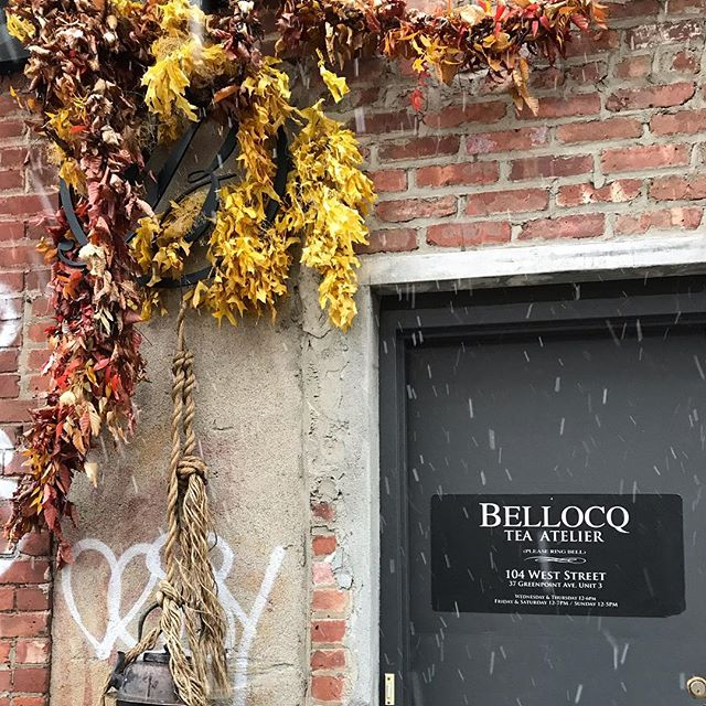 We re braving the snow to revisit this amazing tea shop @bellocq if you asked me the one shop to visit in nyc it would be this one! It s a bit far out but you get the amazing Manhattan views as a bonus! . . . #tea #nyc #citytrip #brooklyn