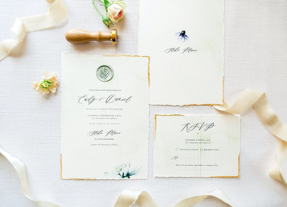 stoke_place_luxury_wedding_stationery_floral_pastel_watercolour_gold_ink_calligraphy_wax_seal_09.jpg