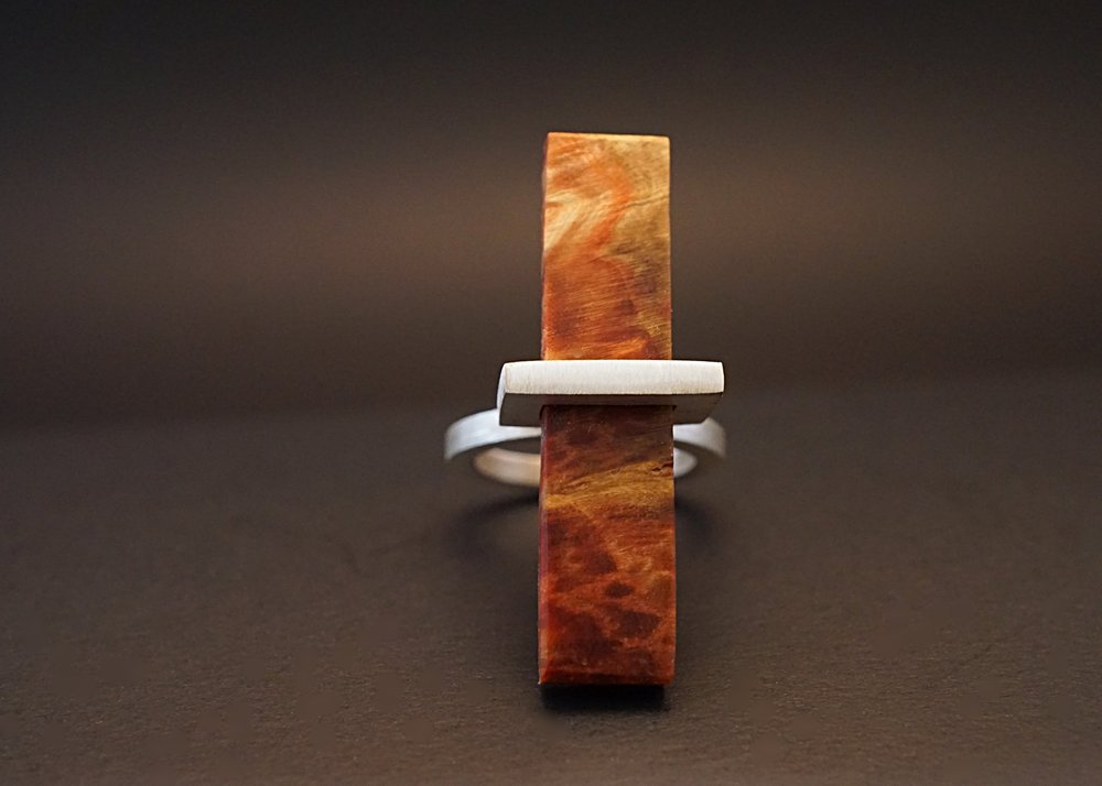 Box elder wood ring