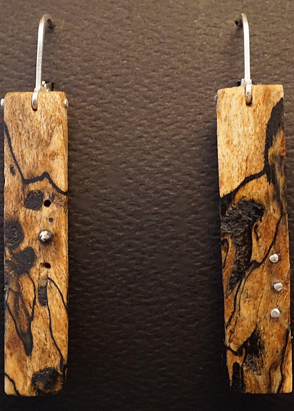 Northern maple earrings