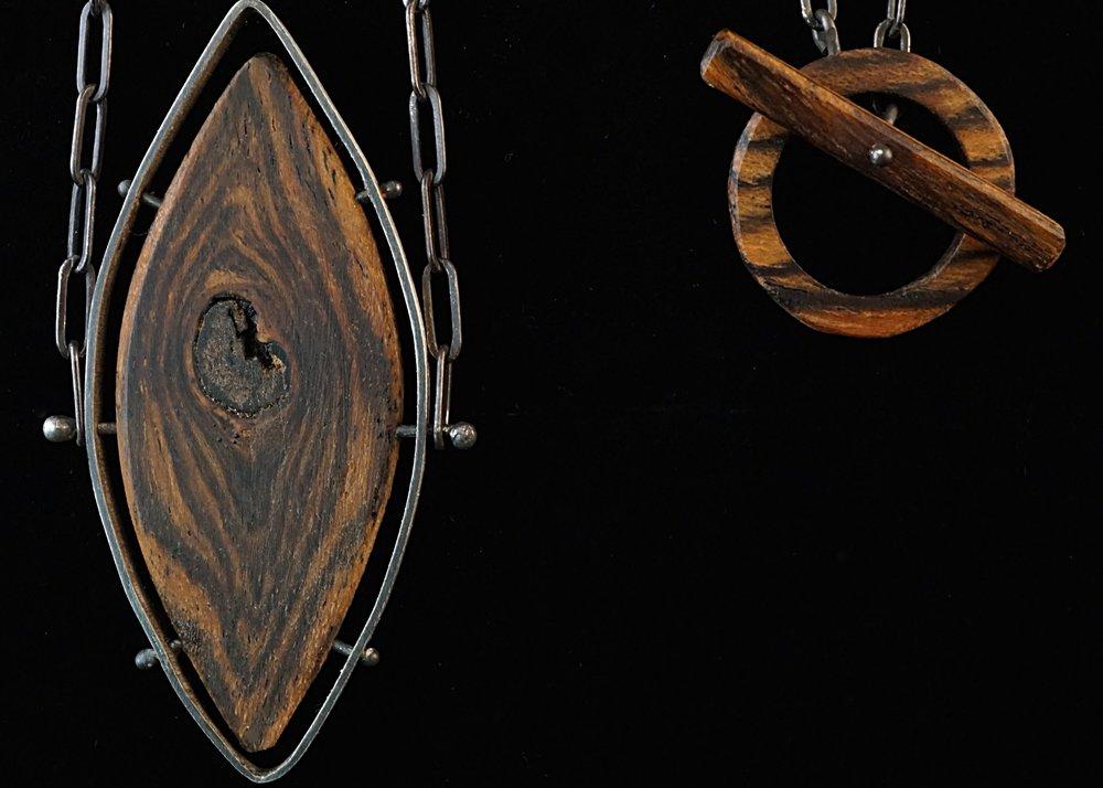 Bocote necklace