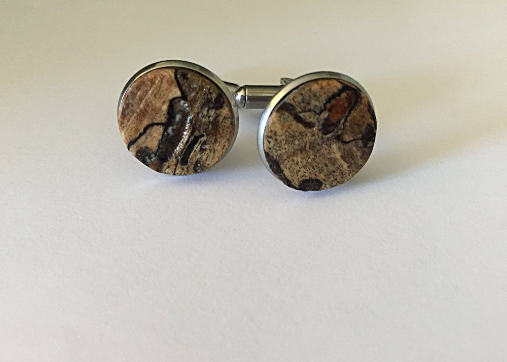 Northern Maple cufflinks