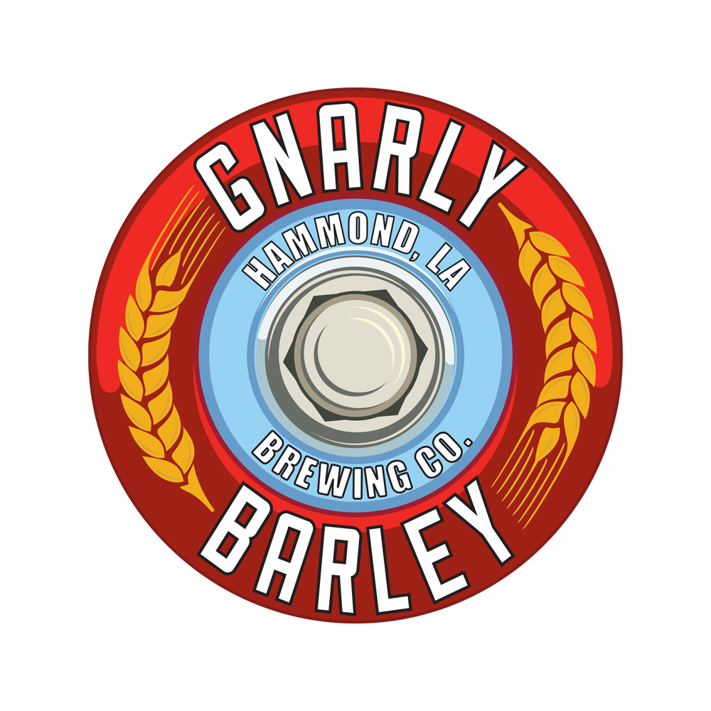 Gnarley Barley   Gnarly Barley is a microbrewery located in Hammond Louisiana that produces tasty beers for all of South Louisiana to enjoy!