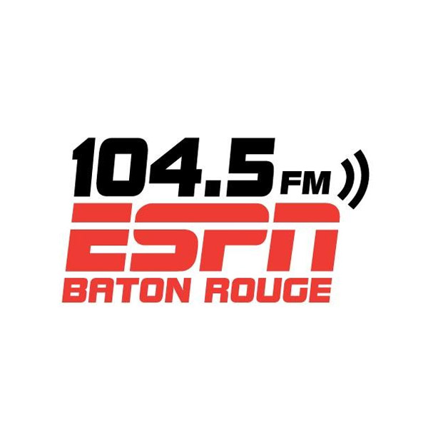 104.5 ESP     N Baton Rouge   Baton Rouge sports talk and home of Off the Bench with Jordy Culotta and T-Bob Hebert, Sports Today with Charles Hanagriff and Jimmy Ott, and After Further Review with Matt Moscona.