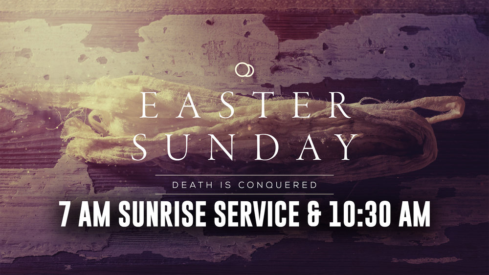 Celebration of the Resurrection, in-full! Join us for a morning of Easter resurrection praise.
