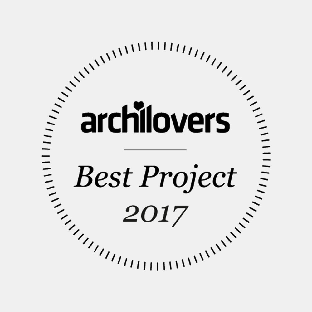 13| 01 | 2018   ARCHILOVERS BEST PROJECTS