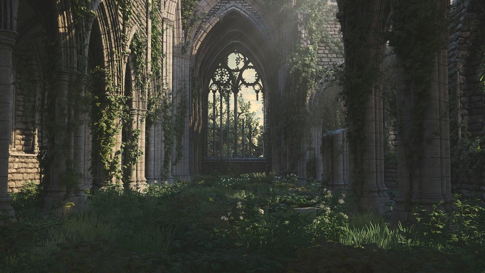 Derelict Abbey