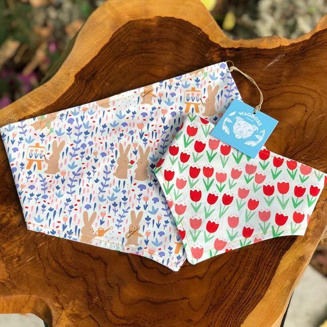 Get your fur-kids ready for Easter 🐣 egg hunting with our reversible 🐰 Bunny & Tulip 🌷 print bandana! In stock and ready to ship. 💌 www.wagboss.com . . . #wagboss #wagbossmiami #wagbossmiamishop #handmade #bandana #pitsofinstagram #pitbullsofinstagram #staffordshirebullterrier #muttsofinstagram #frenchiesofinstagram #staffygram #doodlesofinstagram #yorkiesofinstagram #australianshepherd #pugsofinstagram #dogsofmiami #dogblog #dogblogger #dogmom #dogmomaf #dogfriendlymiami #miamilife #miami #dogsofig #dogsofinstagram #doglover