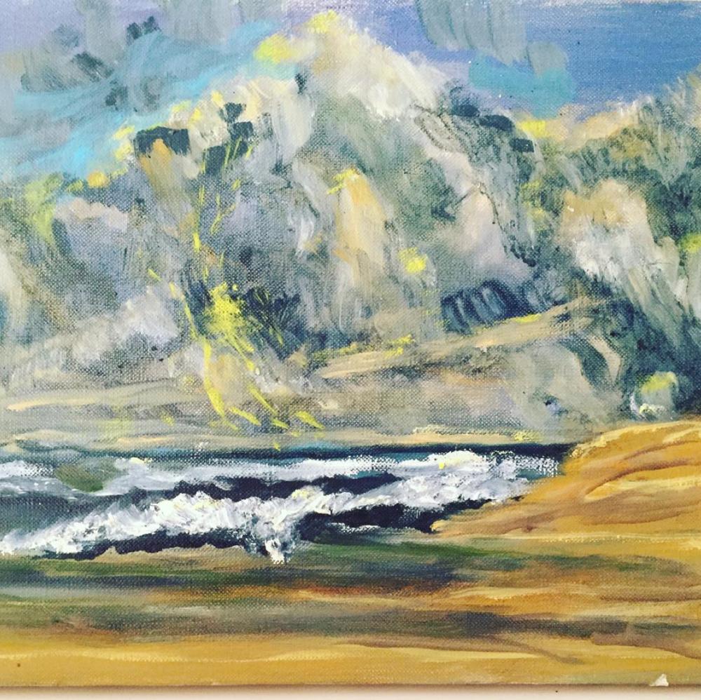 Original Landscape on Canvas