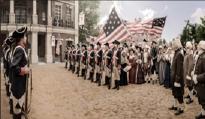 WASHINGTON'S INAUGURAL - 1789  FEDERAL HALL
