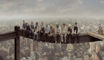 LUNCH ATOP A SKYSCRAPPER - 1932 ROCKEFELLER CENTER