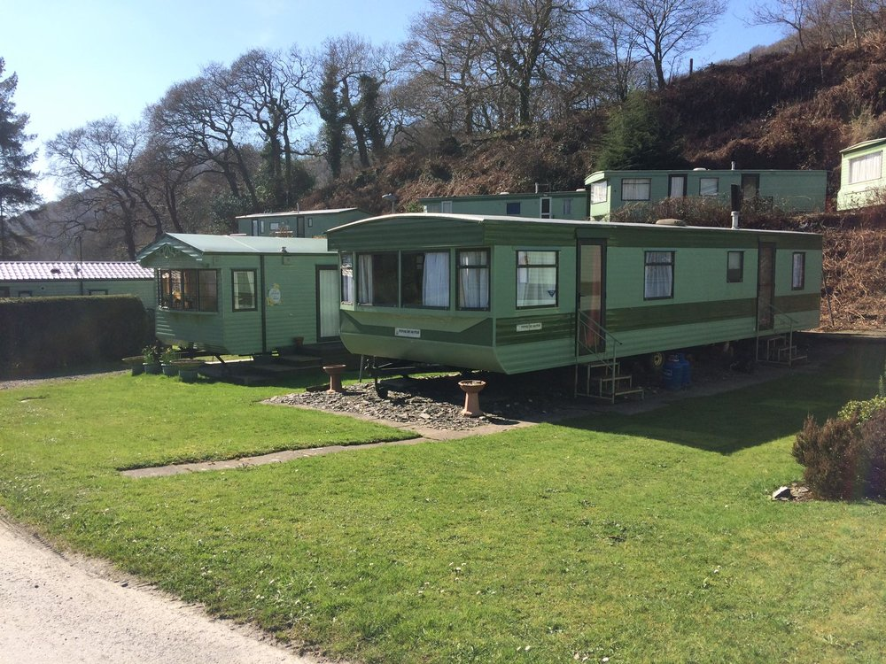Private static caravans Wales
