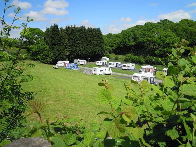 Cefn Crib Touring caravan site