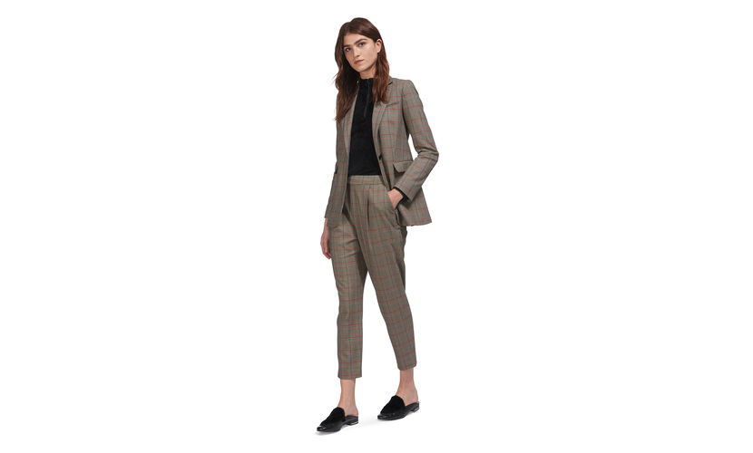 Whistles Blazer- its lovely and long line. Trouser