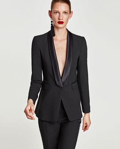 Finally- well bloody done fore battling through that (if you are still here) classic tuxedo from  Zara  £69.99 and  trousers  £29.99 NB sizes going fast in both these.