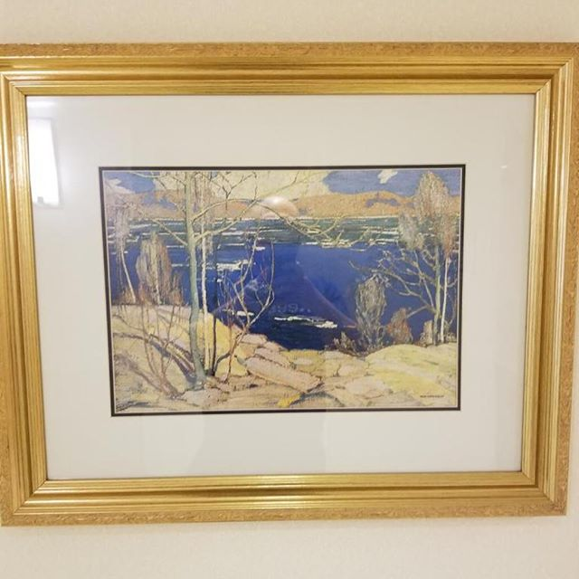 Spotted in Owen Sound, ON 🎨 #tomthomson check out our episode about Tom Thomson on our website or your favourite podcast app :)