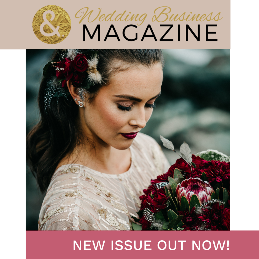 See WEDx in Wedding Business Magazine on Page 15