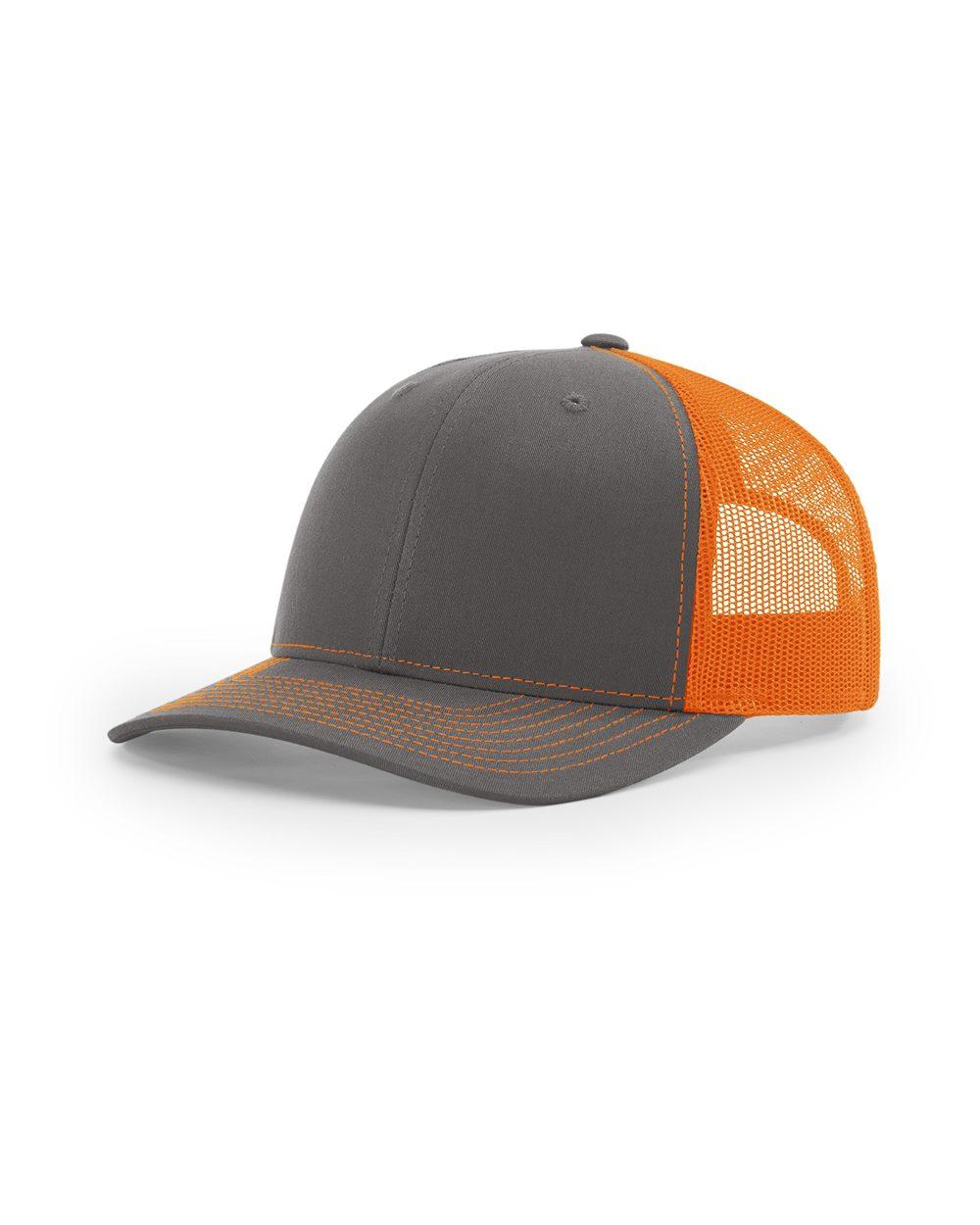 Charcoal/ Orange