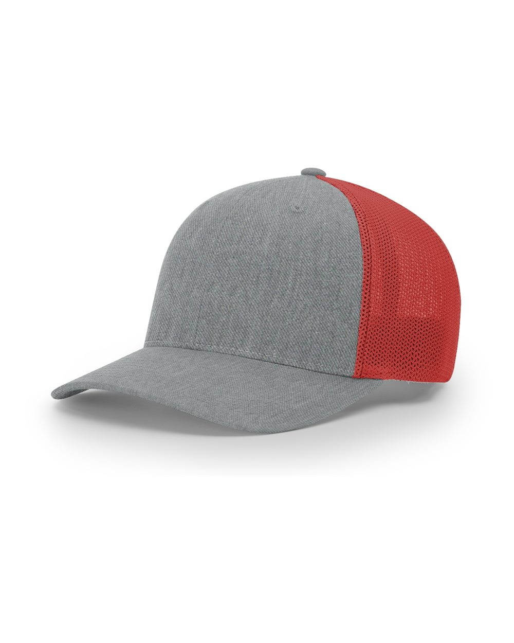 Heather Gray/ Red