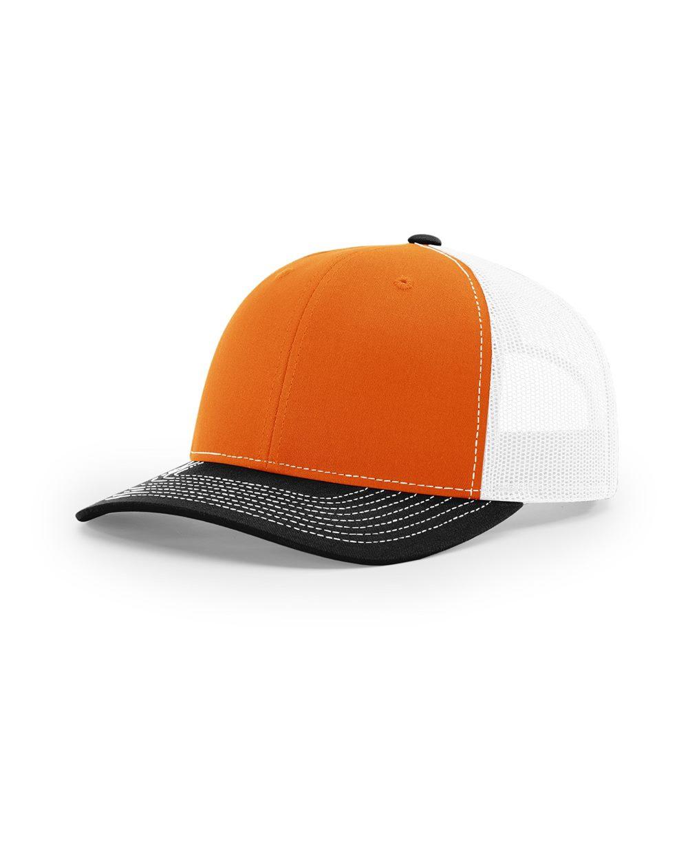 Orange/ Black/ White