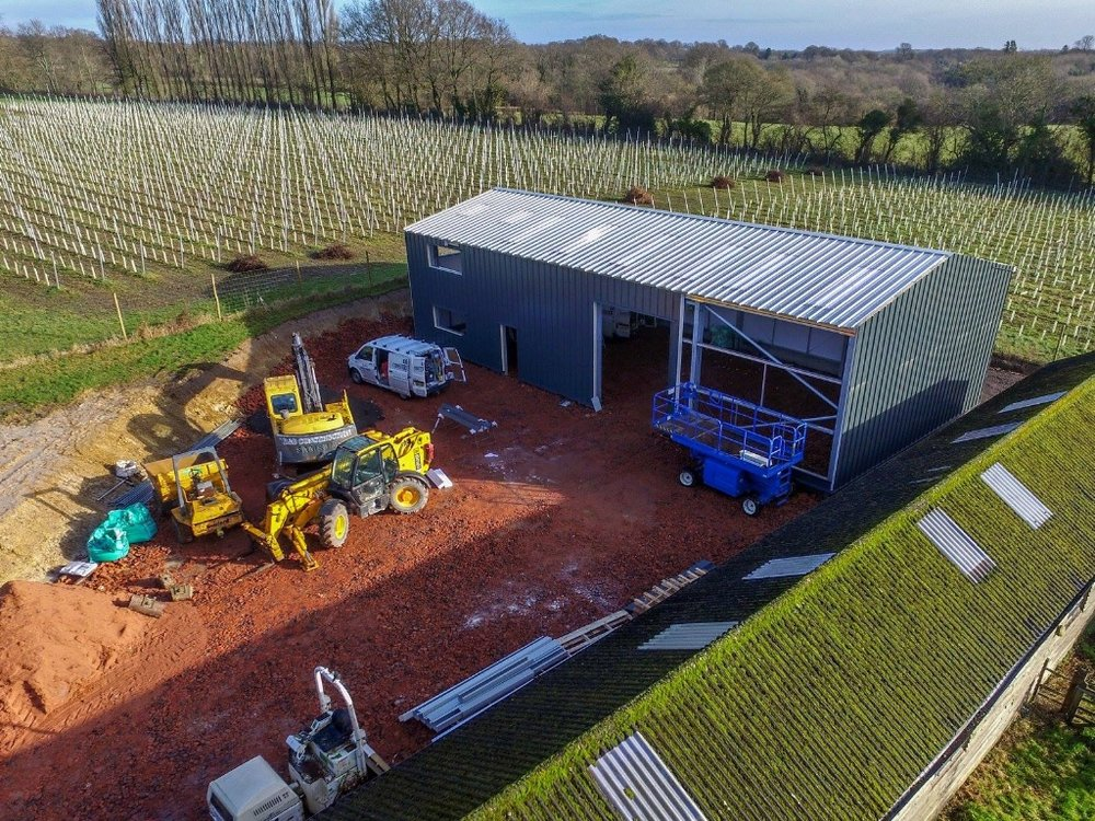 January 2018: The new winery