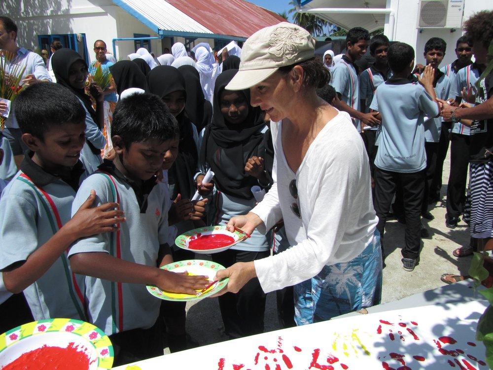 Maldives children