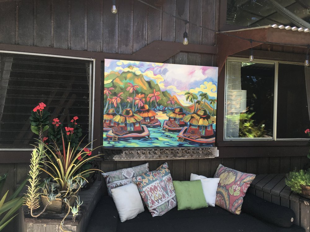 """Oscar's Visit"" featured at The Beach House Restaurant on Kaua'i"