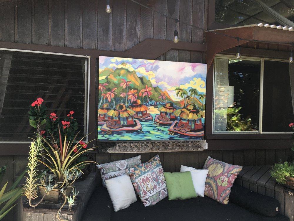 """""""Oscar's Visit"""" featured at The Beach House Restaurant on Kaua'i"""