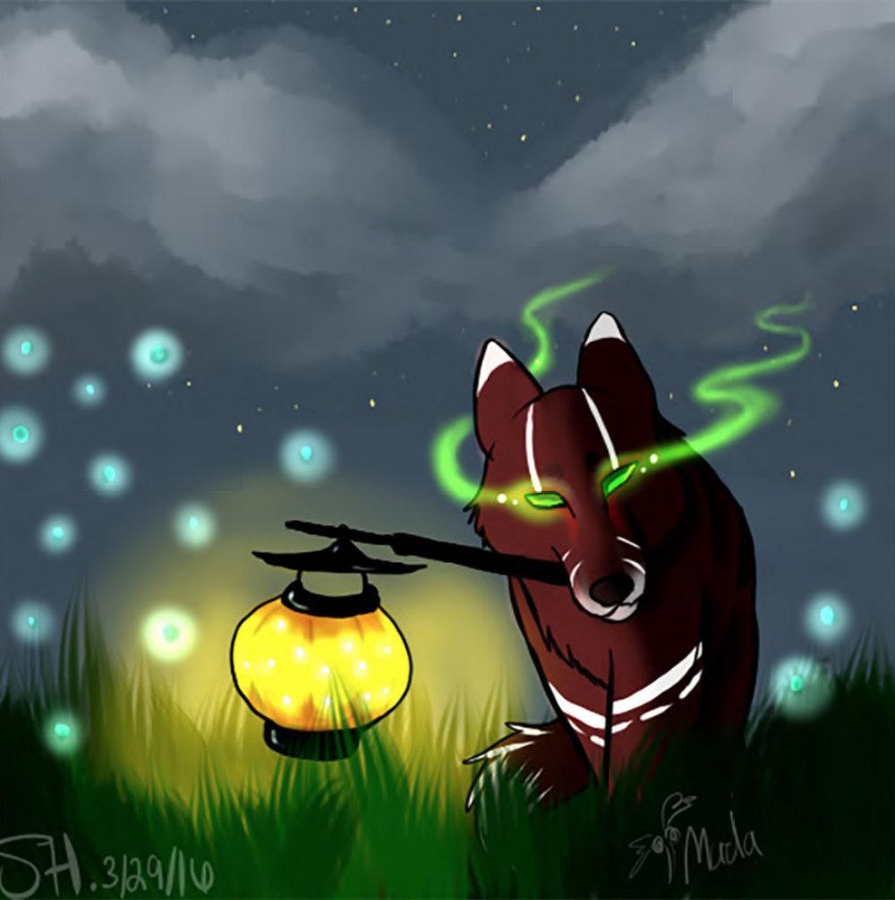 Student Work #17: Kitsune 狐