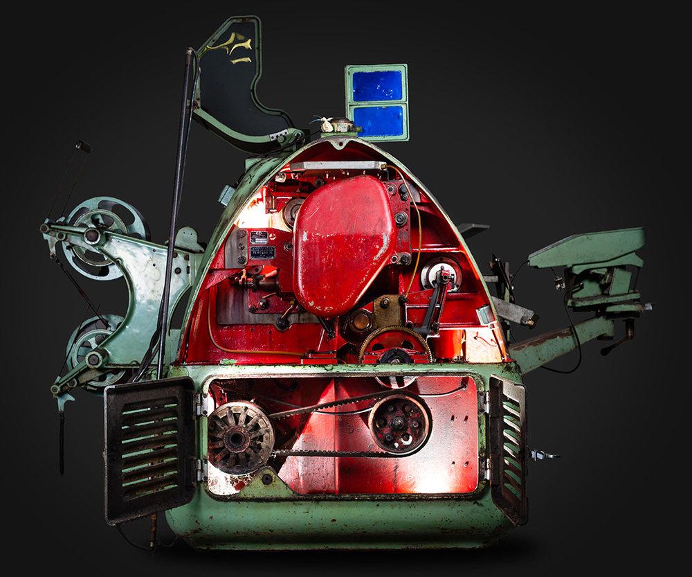Máquina de Embrulhar Rebuçados Vieira de Castro