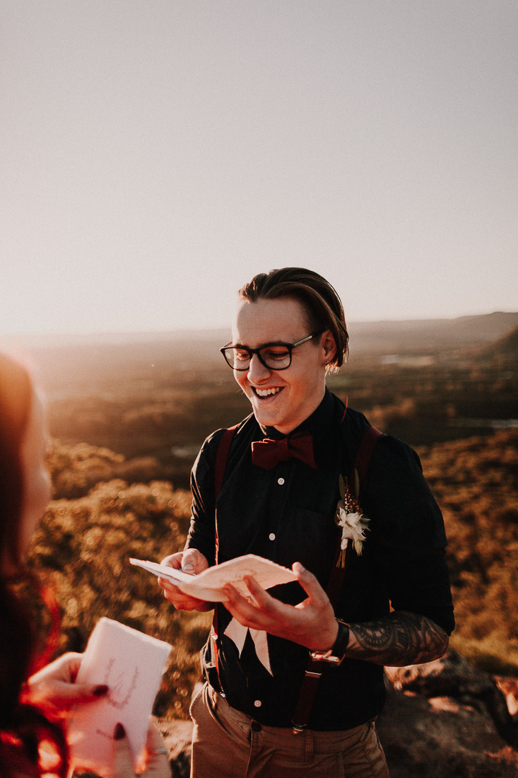 Mountain Elopement | Mount Ngungu, Queensland
