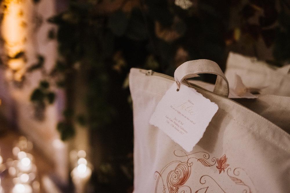 Handmade Paper Wedding Stationery | Lake Como, Italy