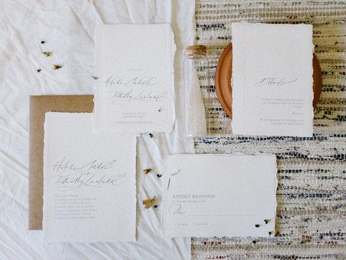 semi custom invitations small brown writes