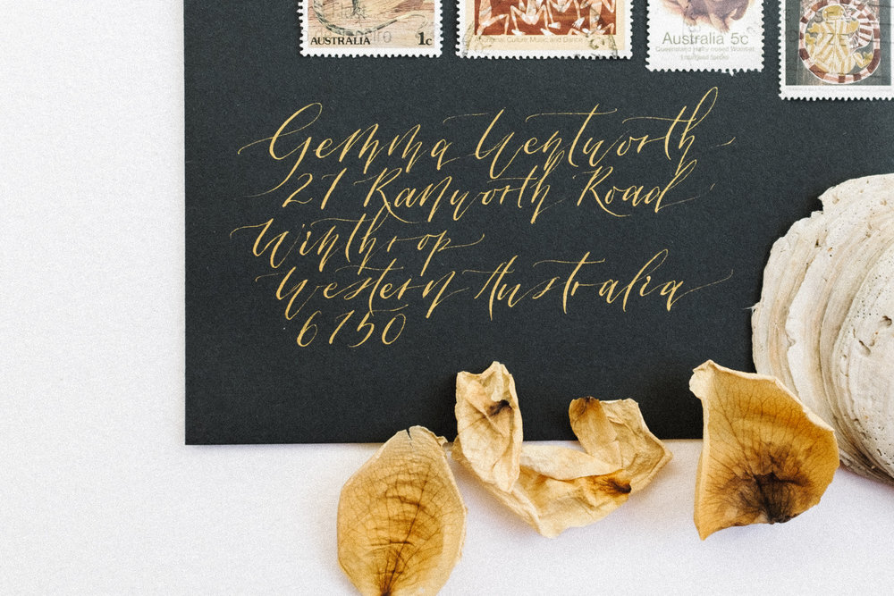 Calligraphy Envelope Addressing    from $62.50