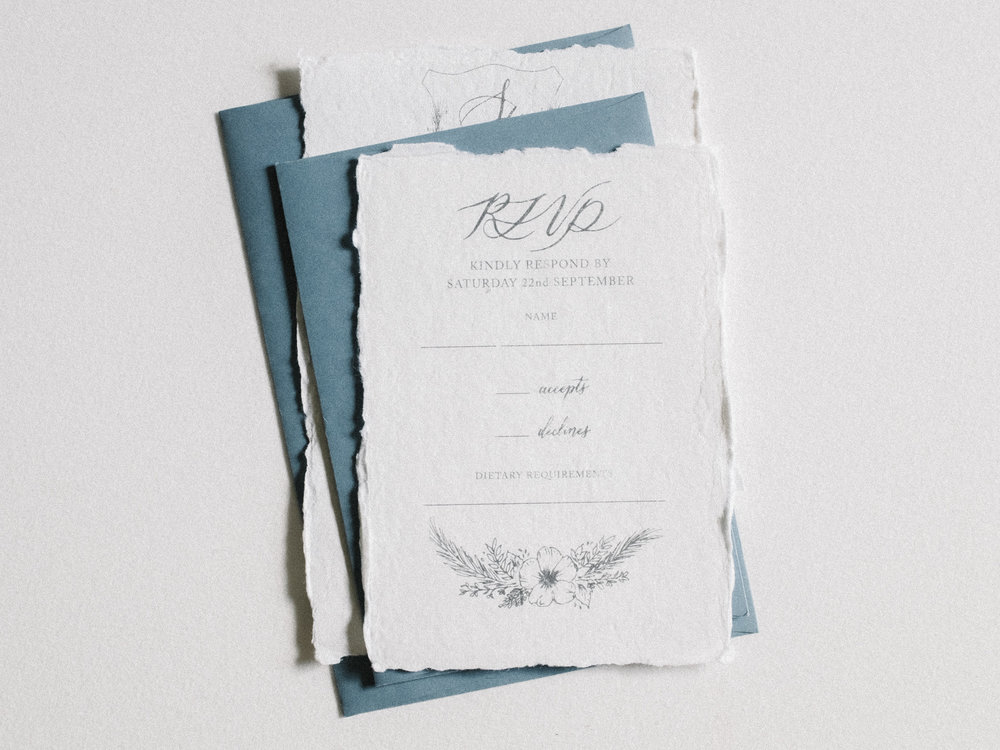 Inner RSVP Envelopes    from $25