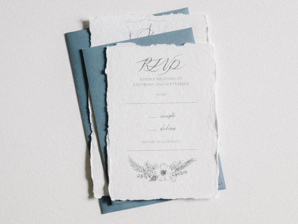 Inner RSVP Envelopes    from $25