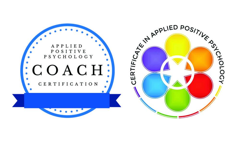 Certifications: - Certified Positive Psychology Coach (in process)Applied Positive Psychology Coaching Certification, The Flourishing CenterCertified Applied Positive Psychology Practitioner Certificate in Applied Positive Psychology, The Flourishing Center