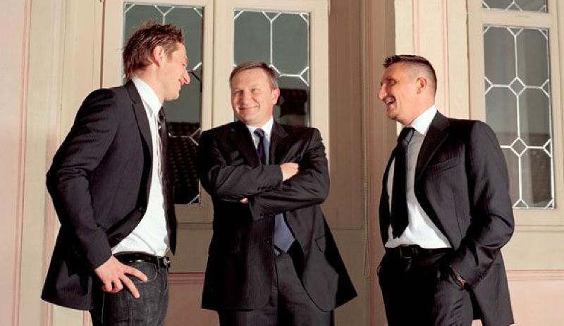 Alessandro, Giovanni e Italo Martinelli