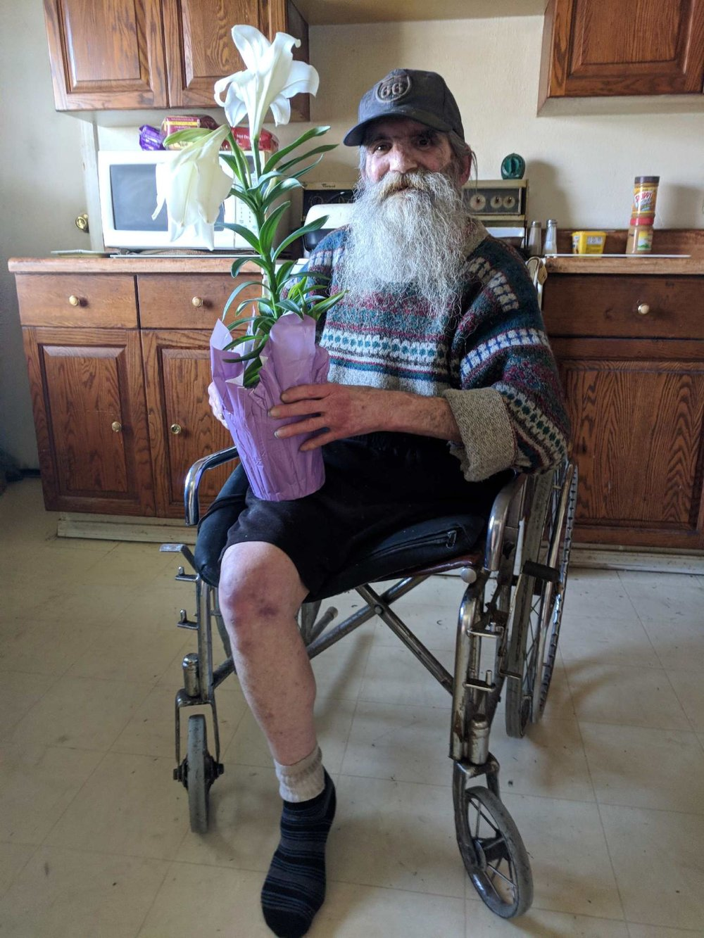 MOW senior with flower, 6.JPG