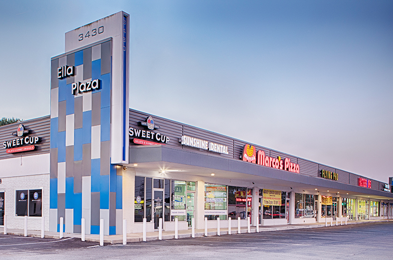 ELLA PLAZA - 100% LEASED