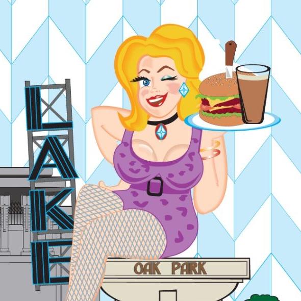 11/11/18: Bingo at Hamburger Mary's in Oak Park