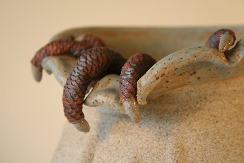 Claw Pot series  Claw Your Way To The Top  detail 2.jpg