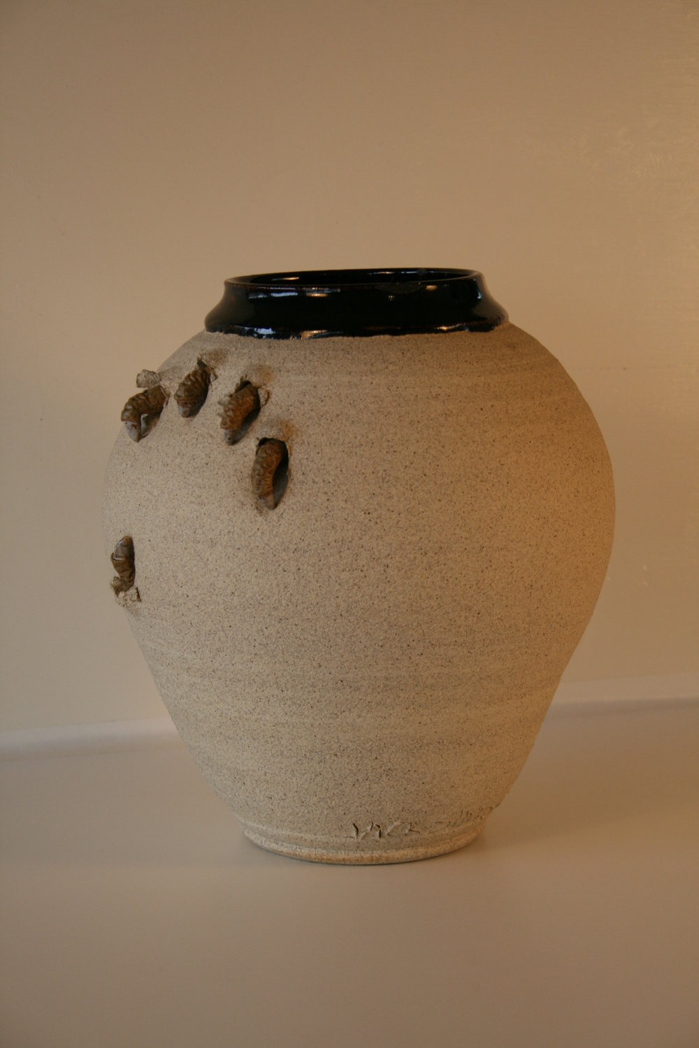 Claw Pot series  Clawdia  9.5 in..jpg