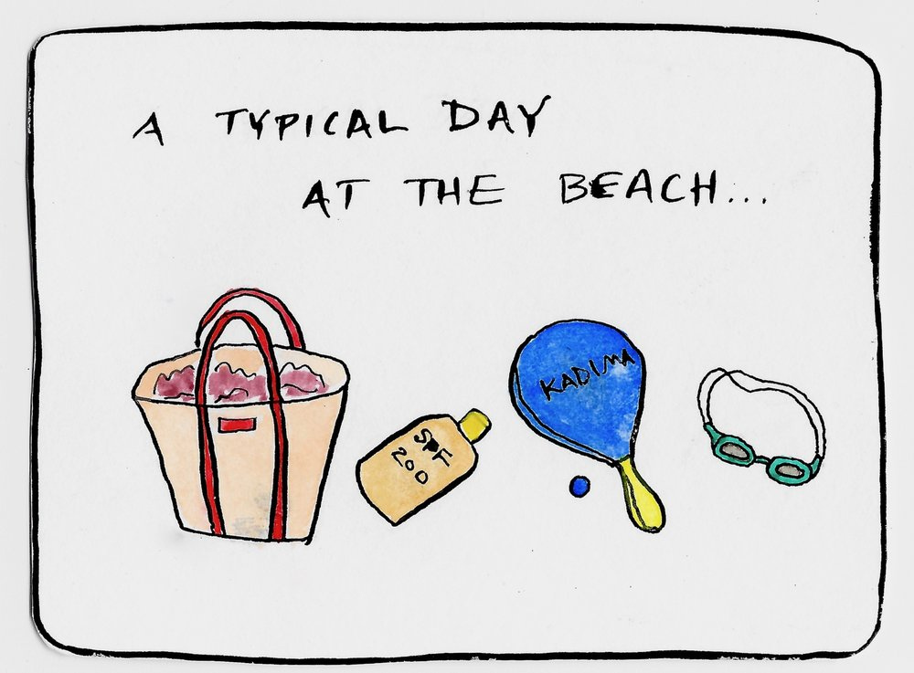 Typical Day at the Beach