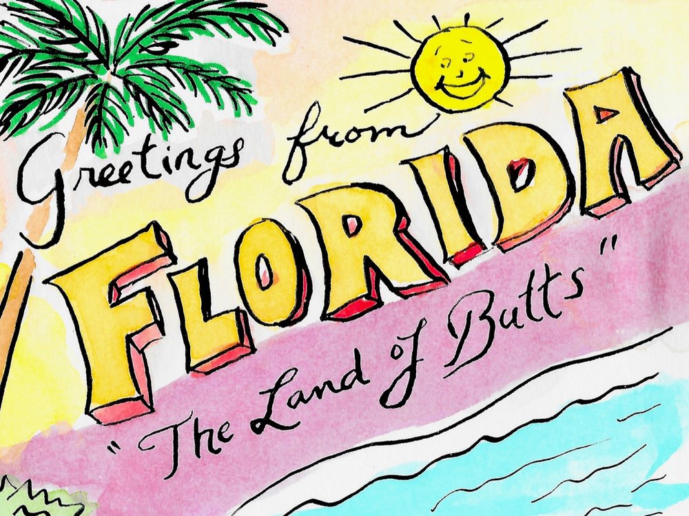 Florida - comic by Kate Teves