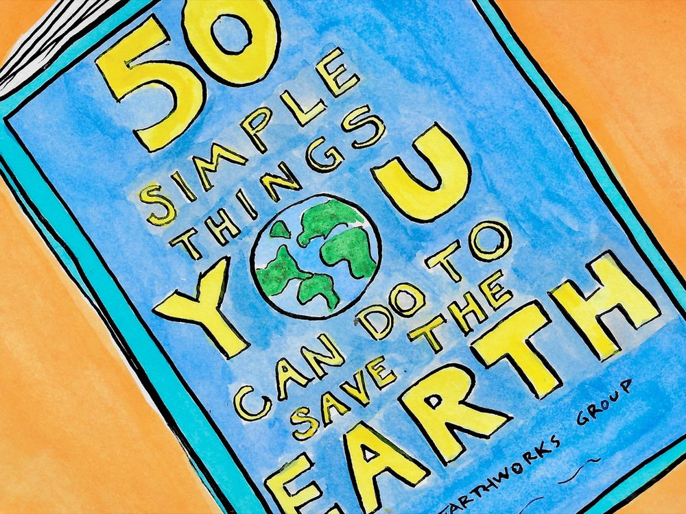 50 Simple Things You Can Do to Save the Earth!