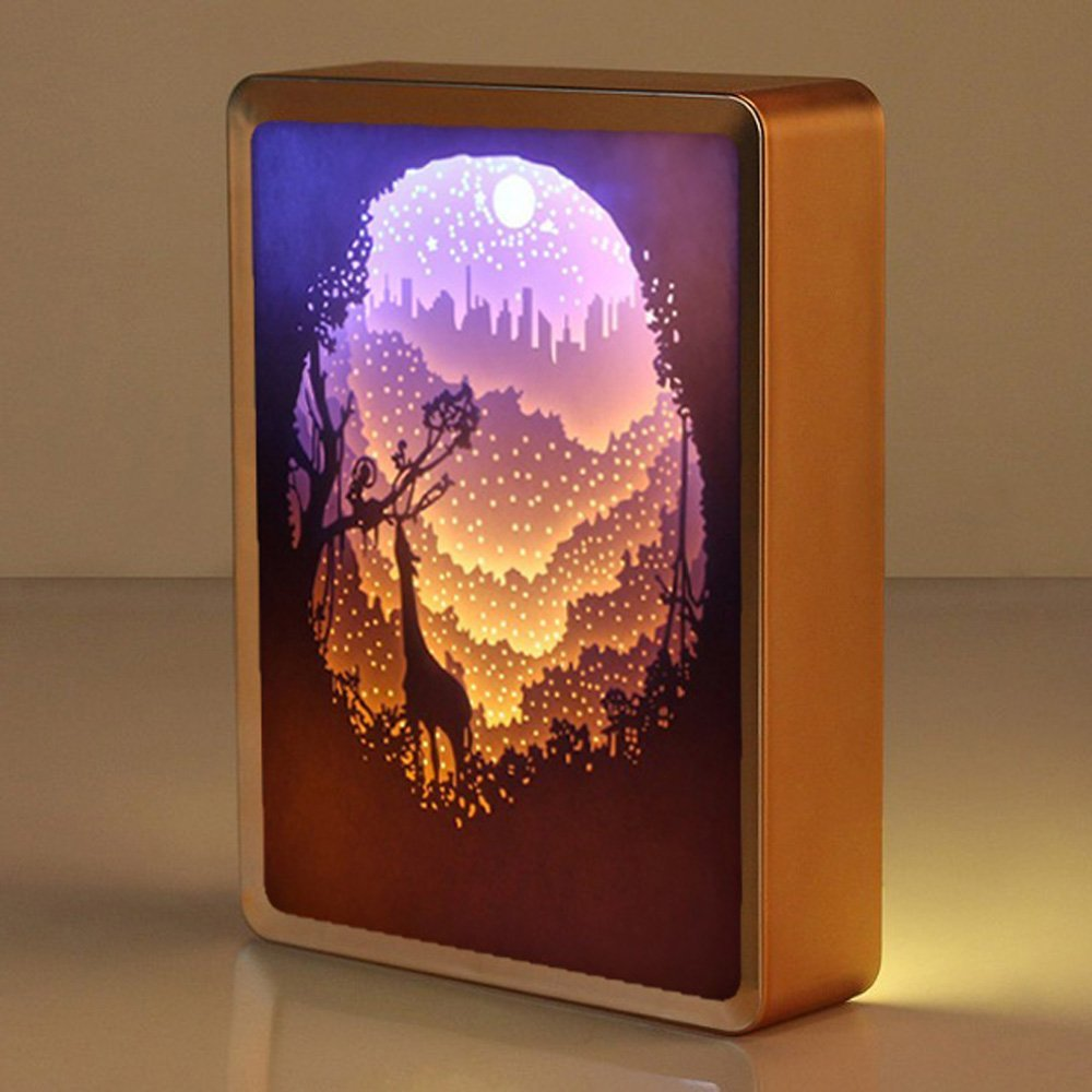 Paper Cut Night Light