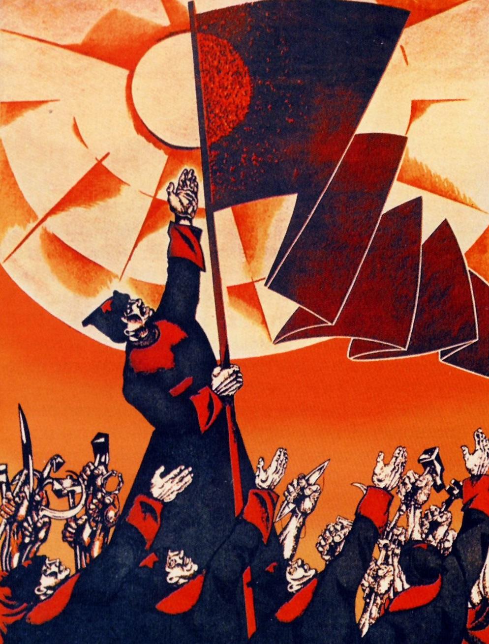 Mid-century Soviet propaganda