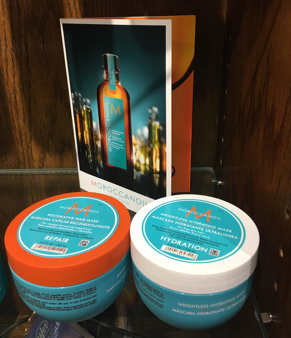 Visit Taliesin Salon Spa at the Ranch for a full Moroccan Oil hair care line to get your hair feeling great today!
